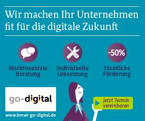 Projekt go-digital des BMWi